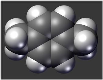 775px-P-xylene-spaceFilling